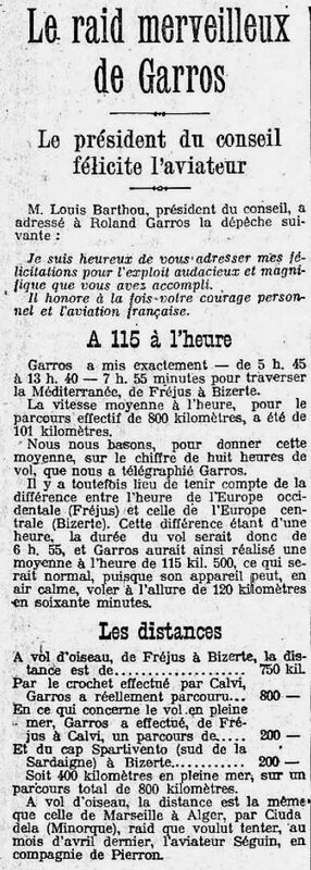Le Matin Garros