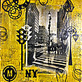 Ny city - art journal