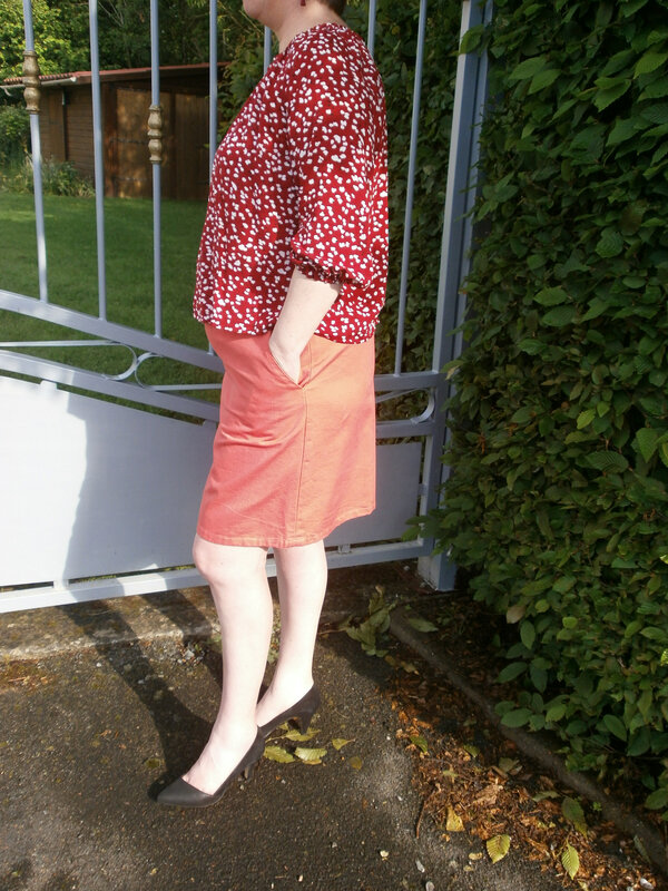 ensemble jupe et blouse