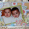 Les jumeaux d'Athina : Théodore et Stratis