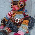 Elfes et créatures... art textile et récup