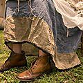 MP Linen Celestyna Skirt w Side Tie Waist