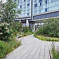 Arpenter la high line de new york
