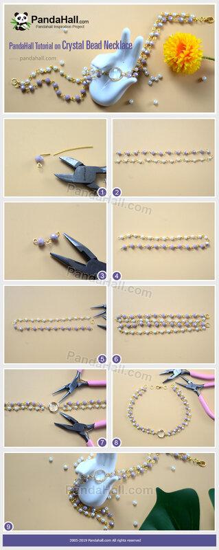 5-PandaHall-Tutorial-on-Crystal-Bead-Necklace