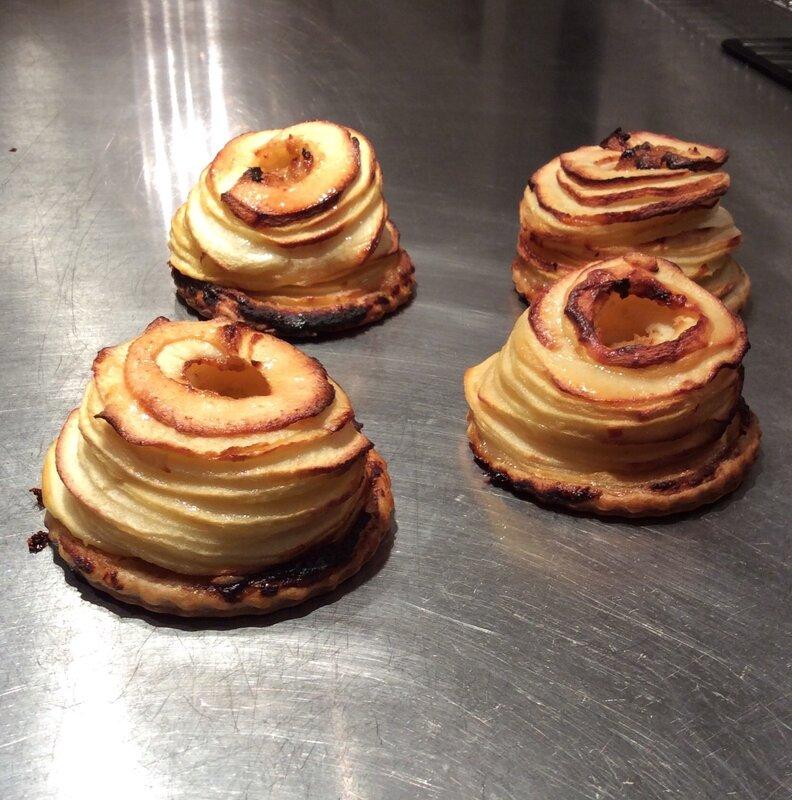Tartelettes aux pommes façon Génin