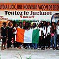 Lydia ludic cote d'ivoire soutient la can 2013