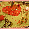 Table Saint Valentin 2015
