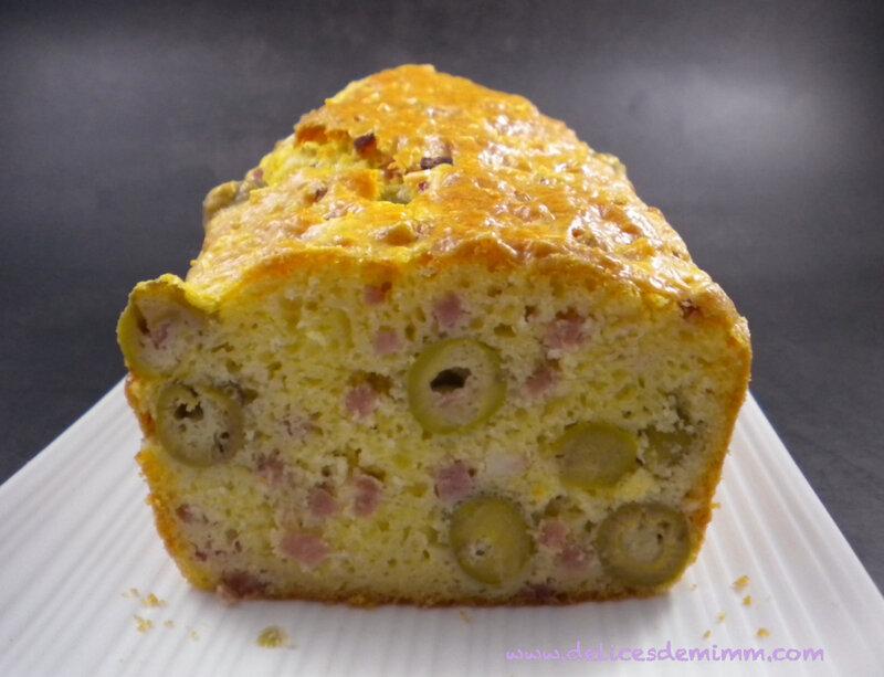 Le cake aux olives et aux Comté + Astuce 4