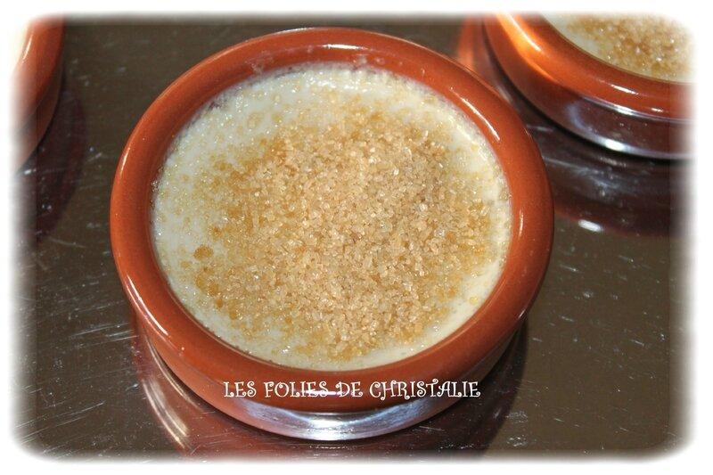 Crème brulée amandes 5