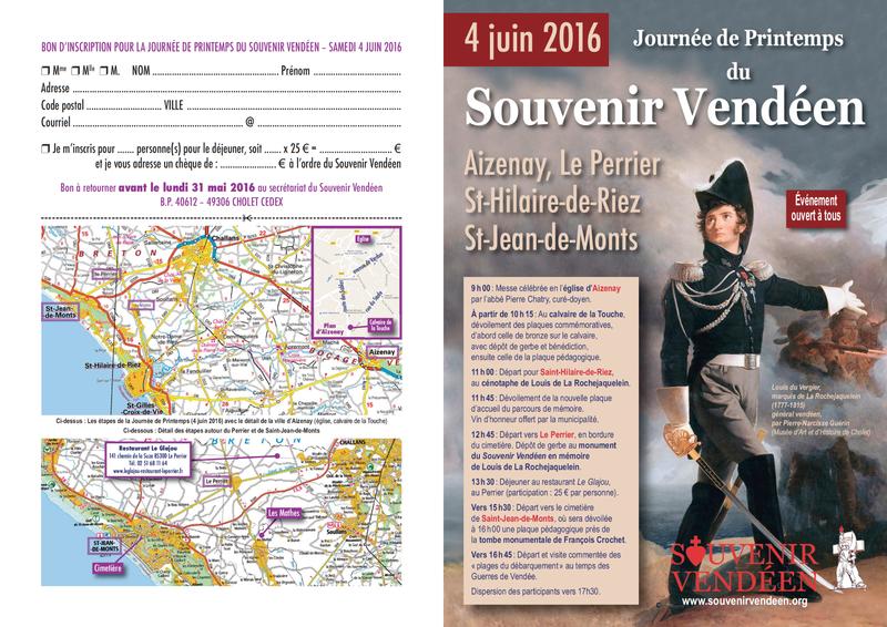 Invitation Journee de Printemps