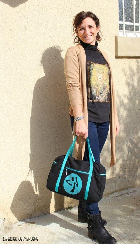 sac bowling porté