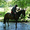 balade equestre gastronomique à La Lucerne d'Outremer (70)