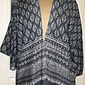 Une veste kimono pour son anniv !!!!!