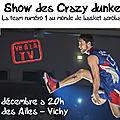 Show de basket acrobatique des crazy dunkers
