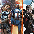 marvel deluxe ultimate avengers 04 thor captain america hawkeye