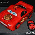 Flash mcqueen arrive...
