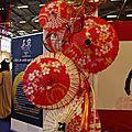 Artisanat japonais à Japan Expo : de magnifiques ombrelles