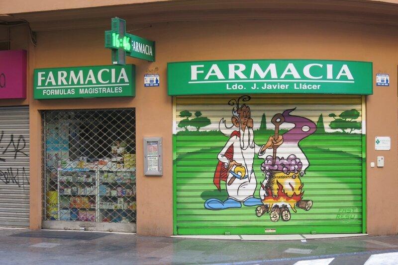 pharmacie Valencia (Espagne)