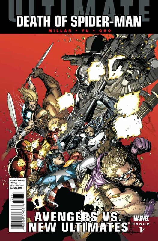 avengers vs new ultimates 1