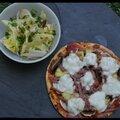 Pizzetta hawaienne
