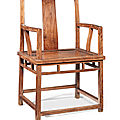 A huanghuali armchair, mid qing dynasty (1644-1911)