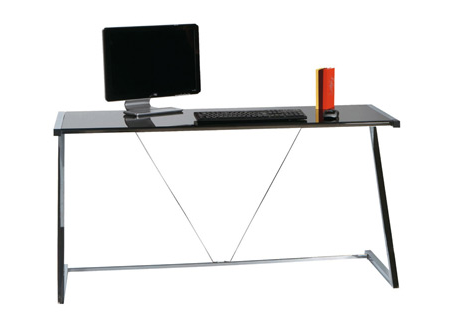 Divertissant bureau verre design contemporain impressionnant