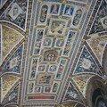 plafond d'une pièce du Dome (Sienne)