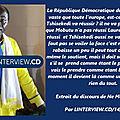 Kongo dieto 3777 : mon deuxieme message au president tshilombo felix !