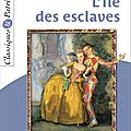 _l'île des esclaves_, de marivaux (1725)