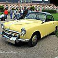 La simca 9 sport coupé de 1953 (9ème classic gala de schwetzingen 2011)