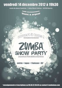 Zumba Snow Party 2012