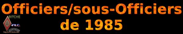 OFFICIERS sous OFFICIERS de BITCHE 1985a