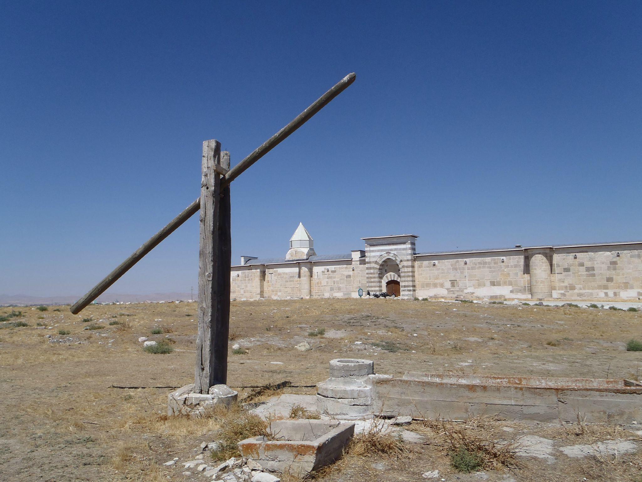 turquie caravanserail zazadin puits