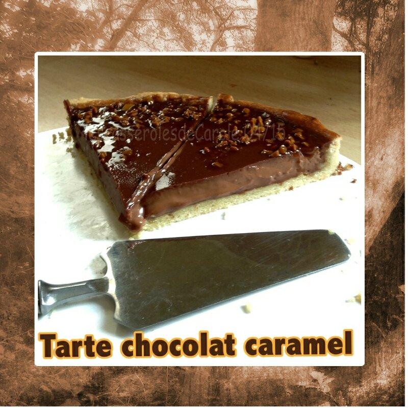 tarte chocolat caramel (SCRAP)