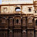 Façade à Jaisalmer