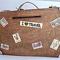 Boite cagnotte valise...