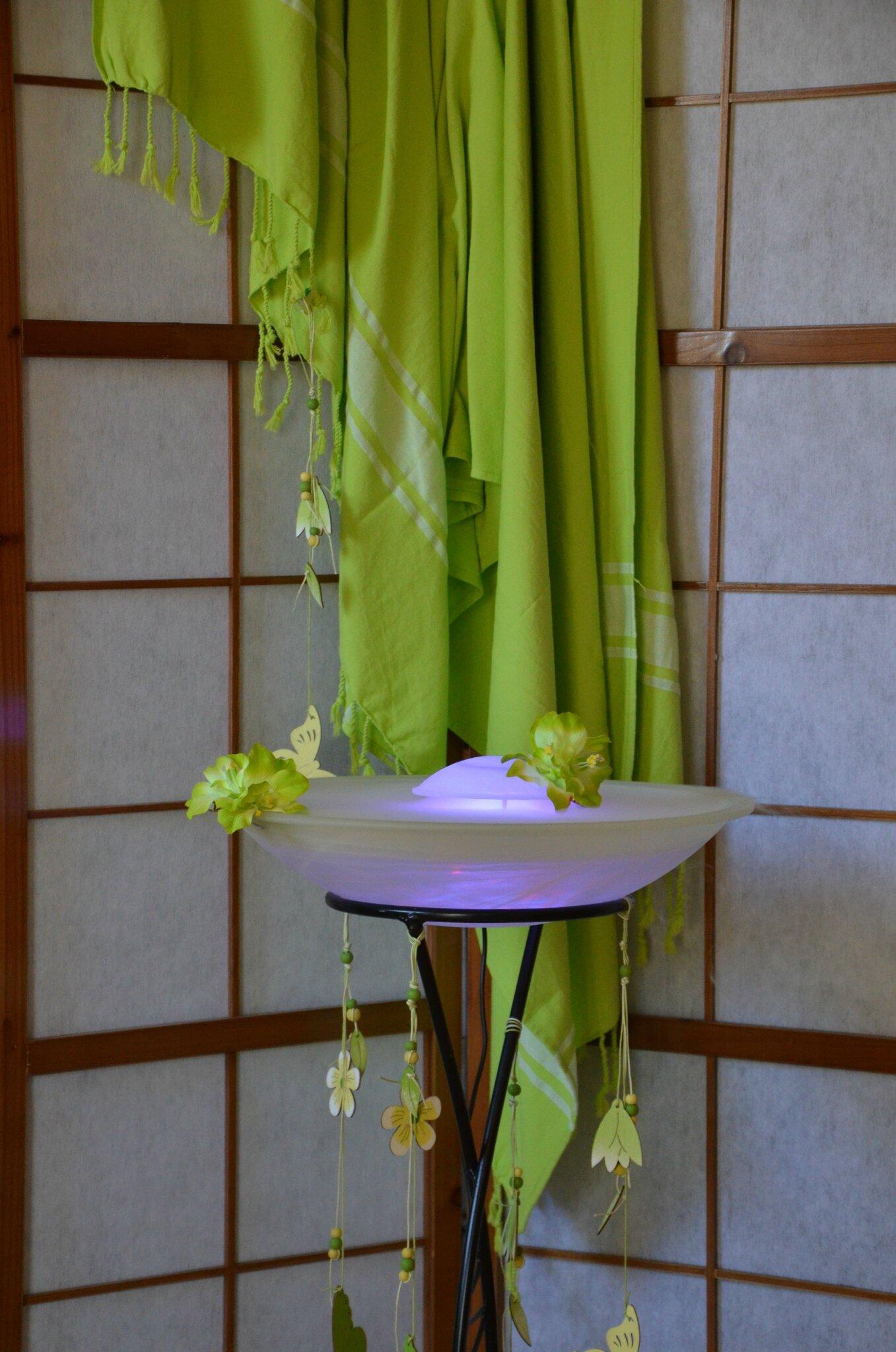 Fontaine d'arôme brumisante