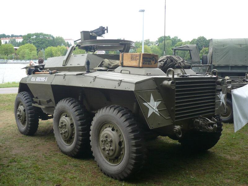 M8 Light Armored Car blindé 6x6 produit par Ford Creutzwald (2)