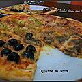 Pizza quatre saisons