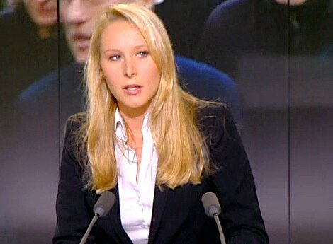 Marion Marechal-Le-Pen tv