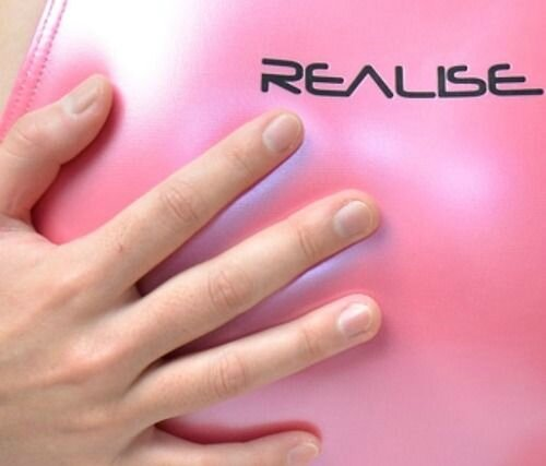 Realise Rubber Swimsuit N-007sh shiny Pink
