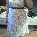 robe bustier bleue 1