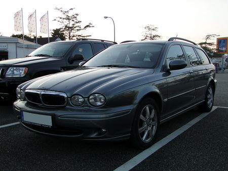 JAGUAR X-Type 2,0D Estate 2004 à 2009, Rencard du Burger King, Offenbourg 1