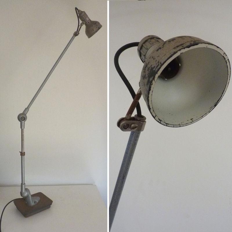 lampe d'atelier, type jld/jielde - design indistriel - le cri du placard