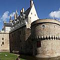 Chateau des ducs de bretagne - nantes - france