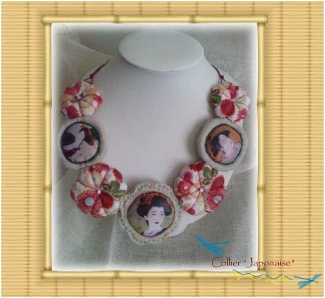 collier japonaise
