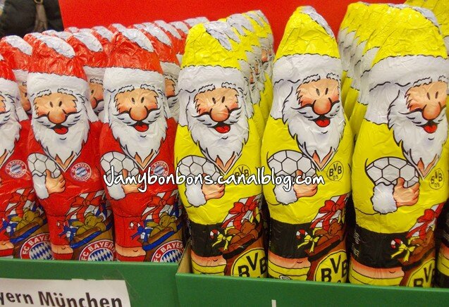 chocolat-foot-pere-noel-bayern-allemagne
