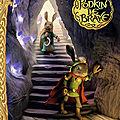 La légende de podkin le brave t2, le trésor du terrier maudit, de kieran larwood, chez gallimard jeunesse ***