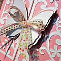 Une carte papillon