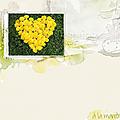 Coeur de pissenlit arcimboldo